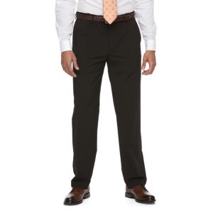 Big & Tall Croft & Barrow® True Comfort 4-Way Stretch Classic-Fit Flat-Front Dress Pants